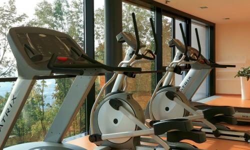 Fitnessraum im Seminarhotel
