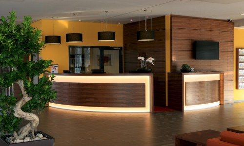 Seminarhotel Lobby