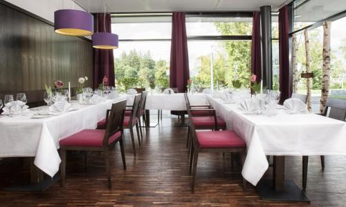 Restaurantbereich im Tagungshotel